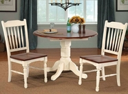 A America BRIMB610B-T-267K BRITISH ISLES 42-DROPLEAF-Table-Chair Dining Set