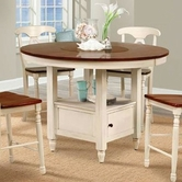A America BRIMB6510 B.ISLES ROUND GATHER HEIGHT TABLE