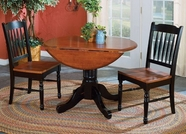 A America BRIOB610B-T-267K BRITISH ISLES 42-DROPLEAF-Table-Chair Dining Set