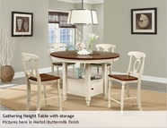 A America BRIOB6510 B.ISLES ROUND GATHER HEIGHT TABLE