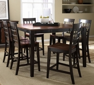 A America BTLOE6750-363 Bristol Point Butterfly Gathering Height Table-Bar-Stool Set