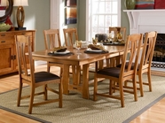 A America CATAM630B-T-2670 CATTAIL TRESTLE-TABLE-Chair Set