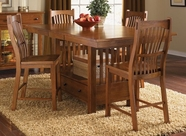A America LAUOA672T-B-375K LAURELHURST GATHERING-TABLE-BARSTOOL Set