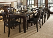 A America MONES617L-257K MONTREAL 38-X1323-LF-EXT-TABLE-Chair Dining Set
