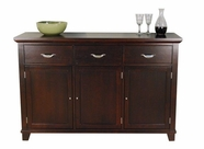 A America MONES9010 MONTREAL WIDE WOOD TOP SERVER
