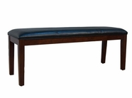 A America PRSES291K UPHOLSTERED BENCH-BLACK