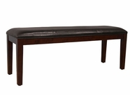 A America PRSES294K UPHOLSTERED BENCH-BROWN