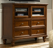 A America RDTJV5740 REEDSPORT 4-DRAWER TV CHEST