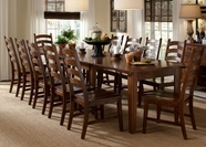 A America TOLRA617L-275K TOLUCA-38-X1323-LF-EXT-TABLE-Chair Dining Set