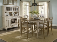 A.R.T. 164236-2613-4X09 Modern Country Counter Height Dining Set