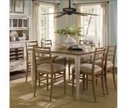 A.R.T. 164236-2613 Modern Country Counter Height Dining Table Straw