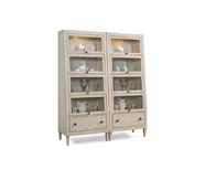 A.R.T. 164440-2617 Modern Country Bunching Barrister Bookcase Linen