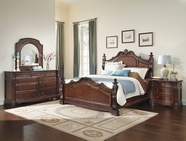 A.R.T. 187165-22-33-2106FB-HB-RS Capri Bedroom Set