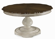 A.R.T. 189225-2617BS-2624TP Belmar II Round Dining Table