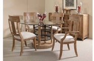 A.R.T. 192225-2303BS-TP-4x04 Ventura Round Dining Table set