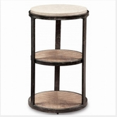 A.R.T. 192309-2303 Ventura Pedestal Accent Table
