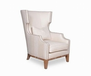 A.R.T. 192539-5003AA Ventura Natural Wing Chair