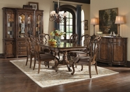A.R.T. 204204-21-2608 Cotswold Double Pedestal Dining Set