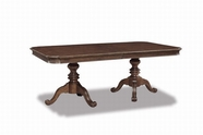 A.R.T. 204221-2608 Cotswold Double Pedestal Table