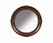 A.R.T. 205122-2304 Whiskey Oak Round Mirror