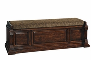 A.R.T. 205149-2304 Whiskey Oak Storage Bench