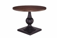 A.R.T. 205226-2304Tp-Bs Whiskey Oak Round Gathering Dining Table
