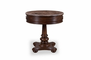 A.R.T. 205303-2304 Whiskey Oak Round Side Table