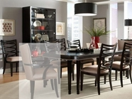 A.R.T. 208220-04-05-1815 Cosmopolitan Leg-Dining-Table 7 Pc Dining Set