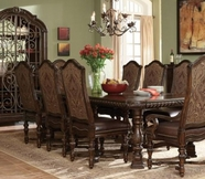 A.R.T. 209221-2304Bs-Tp-209202-2304 Valencia Trestle Dining Table 5Pc Dining Set