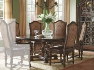 A.R.T. 209225-2304BS-TP-209202-2304 Valencia Round Dining Table 5Pc Set