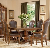 A.R.T. Furniture 142221-2606TP-BS-4x206 Regal Dining Set