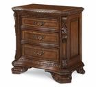 A.R.T. Furniture 143148-2606 Old World Wood Top Bedside Chest