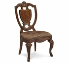 A.R.T. Furniture 143202-2606 Old World Shield Back Side Chair with Fabric Seat