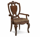 A.R.T. Furniture 143203-2606 Old World Shield Back Arm Chair with Fabric Seat