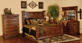 A.R.T. Furniture 144135-2624HB-FB-RS-22-31 Marbella Bedroom collection
