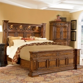 A.R.T. Furniture 144136-2624HB-FB-RS Marbella King Panel Bed
