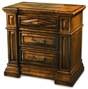 A.R.T. Furniture 144141-2624 Marbella 3 drawer nightstand