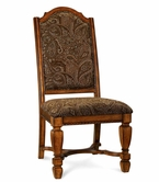 A.R.T. Furniture 144206-2624 Marbella Upholstered Back Side Chair