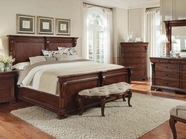A.R.T. Furniture 166165-2630HB-FB-RS Margaux Queen Panel Bed