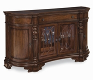 A.R.T. Furniture 168251-1930 British Heritage Buffet With Stone Top