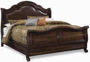 A.R.T. Furniture 172125-2612HB-FB-172145-2612RS Coronado Queen Leather Sleigh Bed
