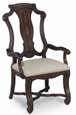 A.R.T. Furniture 172205-2612 Coronado Splat Arm Chair-Linen