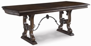 A.R.T. Furniture 172235-2612BS-TP Coronado Counter Height Trestle Dinner Table