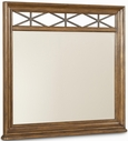 A.R.T. Furniture 177121-1503 Copper Ridge Mirror with metal