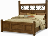 A.R.T. Furniture 177155-1503HB-FB-HP-RS Copper Ridge Queen Poster Bed