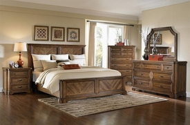 A.R.T. Furniture 177185-1503HB-177135-1503RS-FB-120-130 Copper Ridge Bedroom collection