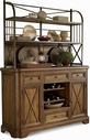 A.R.T. Furniture 177246-47-1503 Copper Ridge Storage Sideboard with Metal Deck