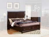 Acme 00154Ck Strg Cal King Bed Hb/Fb/R
