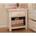 ACME 00759 CREAM/PEACH NIGHTSTAND
