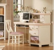 ACME 00764 CREAM/PEACH DESK